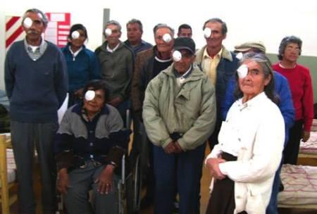 FUNDANOA contribuyó en un 37% a la tasa mínima de cirugía de catarata recomendada por la O.M.S.